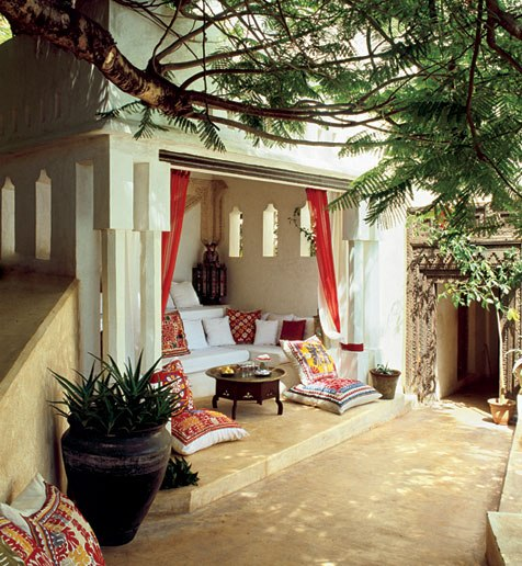 Lamu home, Architectural Digest, August 2010.