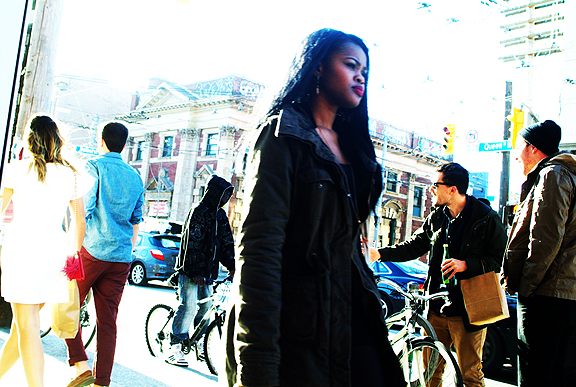 Queen at Bathurst Toronto.