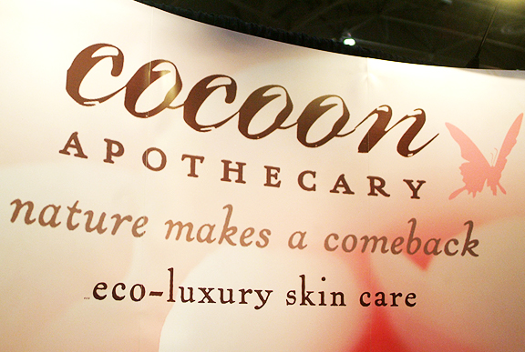 Cocoon Apothecary at the Green Living Show Toronto. Photography by Leah Snyder.