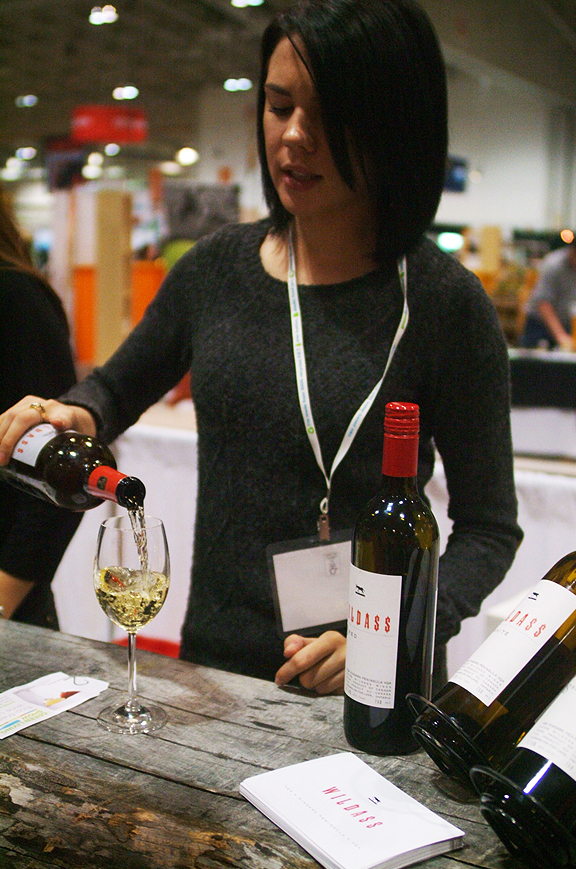 Stratus Wines at the Green Living Show Toronto. Photography by Leah Snyder.