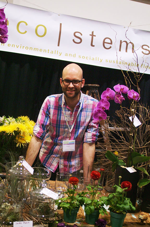 Eco Stems at the Green Living Show Toronto. Photography by Leah Snyder.