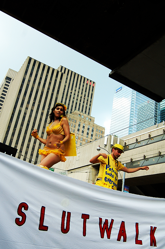 Slutwalk Toronto 2012. Photography by Leah Snyder.