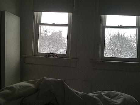 Last snowy Sunday