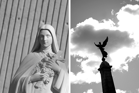 Angel in Montreal.
