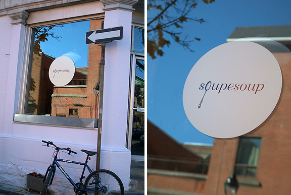 Photographs of great examples of design and branding in Montreal.