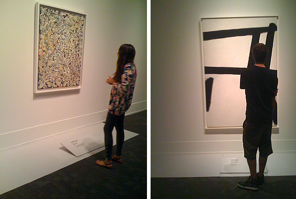 Abstract Expressionism at the Art Gallery of Ontario, Jackson Pollock and Franz Kline
