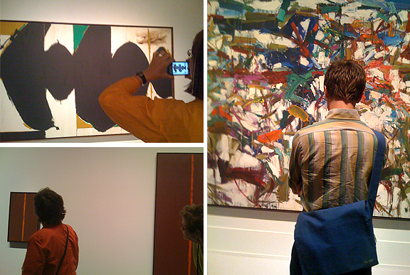 Abstract Expressionism at The Art Gallery of Ontario, Robert Motherwell, Barnett Newman, Joan Mitchell