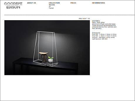 French design company Goodbye Edison.