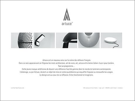 French design company Artuce.