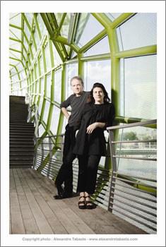 French architects Jakob and MacFarlane.