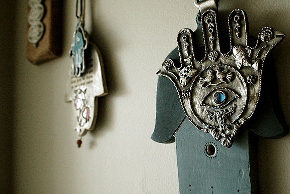 Hand of Fatima, Hamsa, Khamsah, Hand of Miriam by Leah Snyder. 