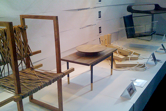 Chairs by OCAD students at the Interior Design Show (IDS) 2011 Student Section, Toronto.