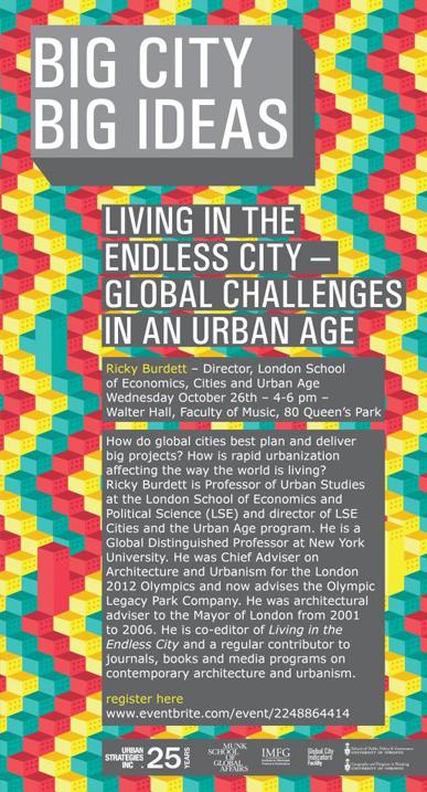 Big City Big Ideas Lecture Series Poster