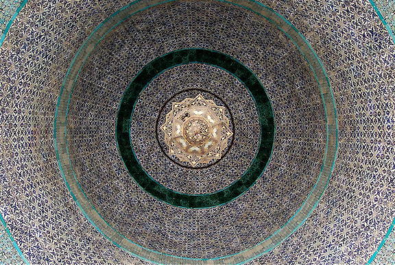 Roof of a shrine near the Dome of the Rock, Jerusalem. Photograph by Scott P. Smith