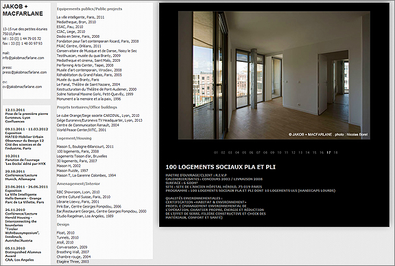 100 Logement Social Housing Project by Jakob + MacFarlane, Paris.