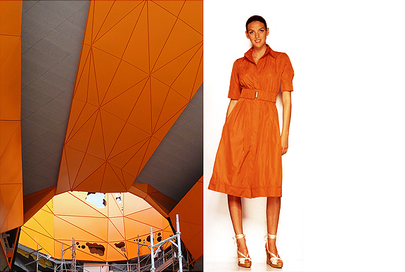 Le Cube Orange by Jacob and MacFarlane. Lyons, France.