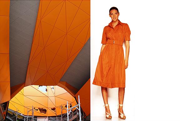 Le Cube Orange by Jacob and MacFarlane. Lyons, France.