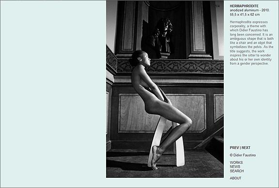 Hermaphrodite by Didier Faustino.