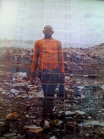 "Photograph by Pieter Hugo, ""Permanent Error"", Contact Festival Toronto 2011."
